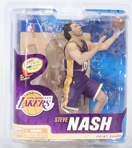 McFarlane Sportspicks: NBA Series 22 Steve Nash - L.A. Lakers BRONZE LEVEL VARIANT 6 inch Action Figure (Steve Nash Action Figure compare prices)