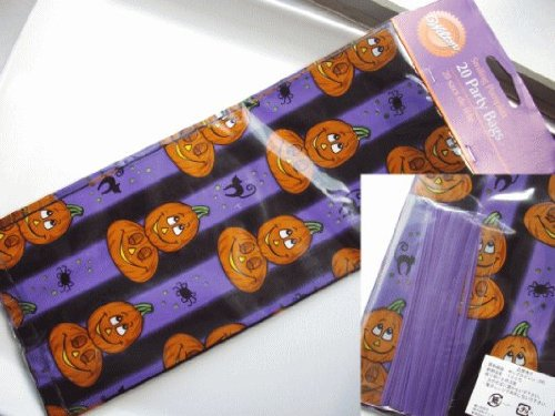 Wilton Smiling Pumpkins Party Treat Bags 20ct - 1