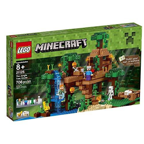 lego 乐高我的世界系列丛林树屋 21125 特价:$56.82.