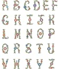 Brother Embroidery Machine Card RADIANT ALPHABET