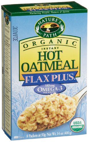 Nature's Path Organic Instant Hot Oatmeal Pouch Plus Flax