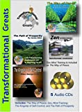 img - for Transformational Greats Audiobooks: The Path of Prosperity / The Way of Peace / Zen Mind Control / The Kingship of Self-Control book / textbook / text book