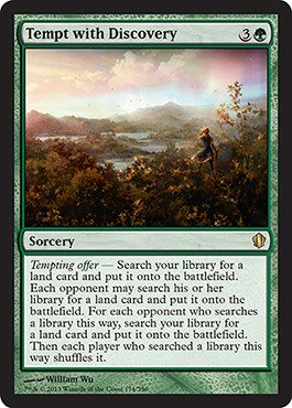 Magic: The Gathering - Tempt With Discovery (174/356) - Commander 2013