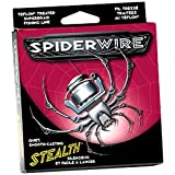 Spiderwire Stealth Braid 300-Yard Spool (Hi-Vis Yellow, Pound/Diameter 65/15)