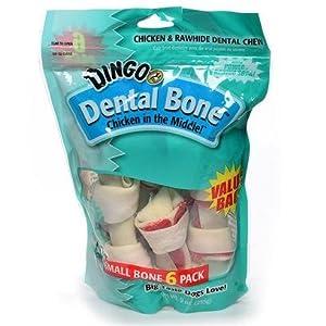 Dingo Brand Dingo Small Dental Value Bag 6 pack Treats & Chews