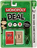 1 X Monopoly Deal Mini Card Game Keychain