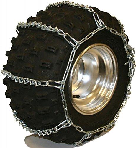 Quality Chain 5.5mm Link V-Bar ATV UTV Snow Traction Tire Chains (ATV-A) (Sport Quad Tires compare prices)