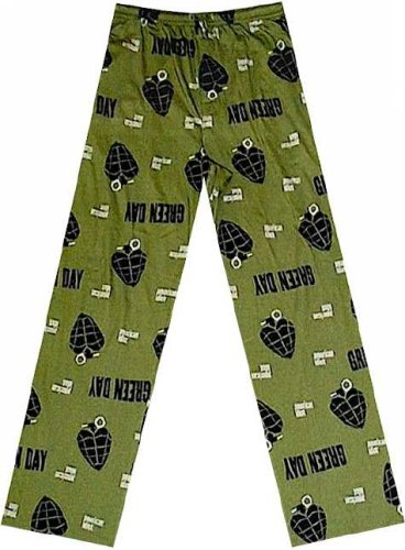 Buy Green Day American Idiot Grenade All-Over Lounge Pants for men