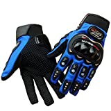 OSS-FUEL FUEL Pro-Biker Motorcycle/Bike Riding Gloves XXL Size-Blue
