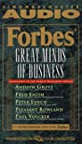 img - for Forbes Great Minds Of Business book / textbook / text book