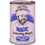 Chef Paul Prudhomme's Magic Seasoning Blends ~ Pork & Veal Magic, 24-Ounce Canister