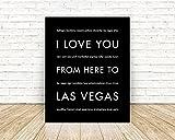 Las Vegas State Travel Art Print