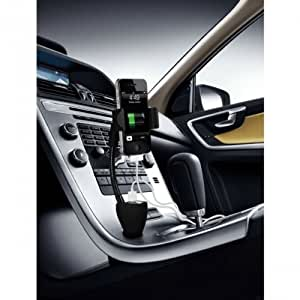 Fonus Universal Car Mount Holder with Dual USB Charger and Charging Socket for HTC One S, Amaze 4G, One V, EVO Design 4G, Thunderbolt 4G, Wildfire S, Droid Incredible 4G LTE, Droid Incredible 2, Vivid, One X, Hero S, Titan 2