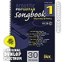 Acoustic Pop Guitar SONGBOOK 1 (+CD) im Ringeinband inkl. Plektrum - die Akustikversionen von 30 Topsongs für Gitarre von GREEN DAY, COLDPLAY, STING, NORAH JONES u.v.a. mit Strumming- und Picking-Patterns (Ringbindung) von Michael Langer (Noten/Sheetmusic)