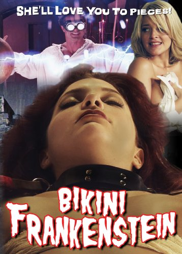 Cover art for  Bikini Frankenstein