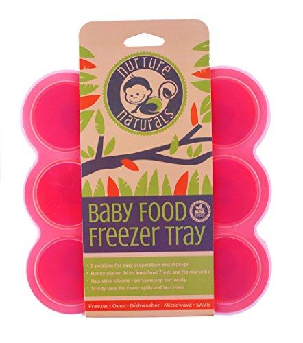 Babybrei-Aufbewahrung-zum-Einfrieren-von-Babynahrung-und-als-Behlter-fr-Beikost-2-Farben-zur-Auswahl-BPA-frei-FDA-zugelassen-9-x-75ml-ideale-Portionsgre