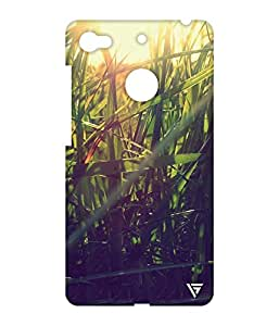 Vogueshell Grass Printed Symmetry PRO Series Hard Back Case for LeEco Le 1s Eco