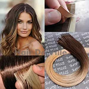 10 pieces 20 inches ombre two tone tape in
