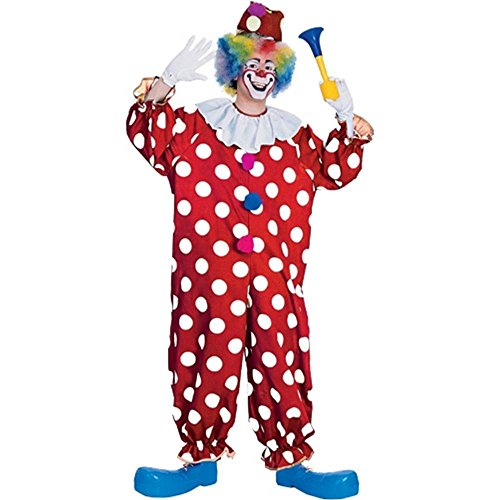Dotted Clown Adult Costume - Standard