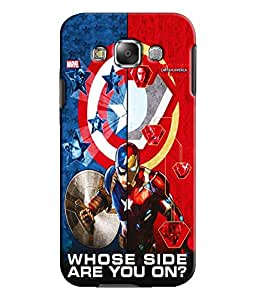 EU4IA - SAMSUNG GALAXY E5 - PRINTED BACK COVER CASE - MATTE FINISH