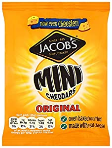Mcvitie's Original Baked Mini Cheddars 35 g (Pack of 44)