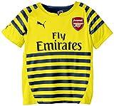 2014-2015 Arsenal Puma Pre-Match Training Shirt (Yellow-Blue) - Kids