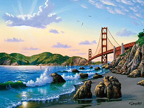 Bridge View a 500-Piece Jigsaw Puzzle by Sunsout Inc.