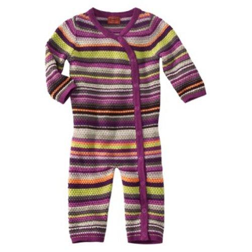 Missoni For Target Baby Unionsuit Bodysuit Onesie 6 - 12 Month