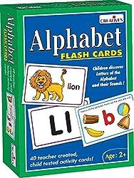 Creative Educational Aids 0519 Alphabet - Flash Cards