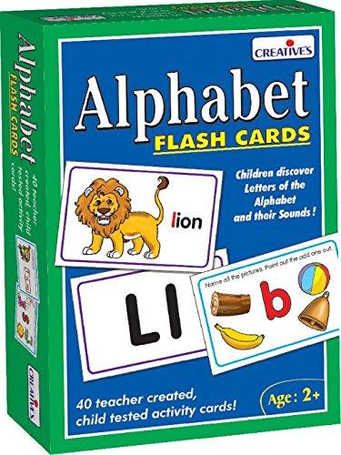 Creative Pre-School - Alphabet- Flash Cards - (Cre0519) [importato da UK]