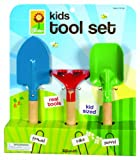 Toysmith 2296 Kids 3-Piece Garden Tool Set