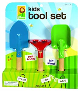 Kid's 3-Piece Garden Tool Set