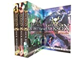 Percy Jackson 4 Books collection Set Pack . (Percy Jackson and the Lightning Thief, Percy Jackson and the Titans Curse, Percy Jackson and the Sea of Monsters & Percy Jackson and the Battle of the Labyrint.)