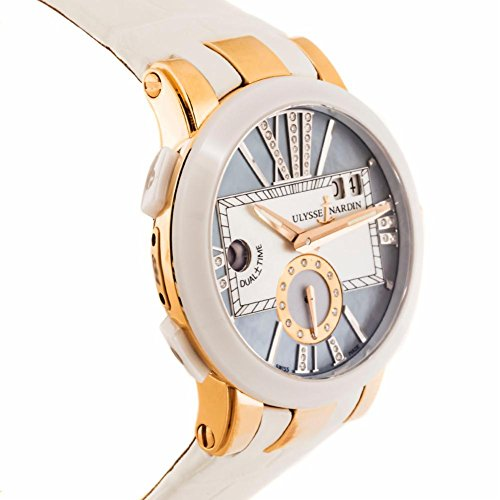 Ulysse Nardin Executive Dual Time automatic-self-wind womens Watch 246-10/392 (Certified Pre-owned)