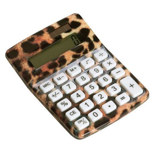Cheetah Animal Print Calculator