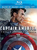 Captain America: The First Avenger (Three-Disc Combo: Blu-ray 3D / Blu-ray / DVD / Digital Copy)