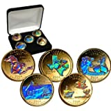 2004 24K Gold Plated Hologram State Quarters