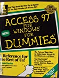 Access 97 for Windows For Dummies (For Dummies (Computer/Tech)) (0764500481) by Kaufeld, John