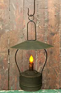 Amazon Com Candle Hanging Nook Lantern Battery Operated