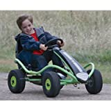 Green Air Tire Racer Pedal Car, Model# 8881-900