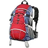 AspenSport AB04R02  - Zaino da trekking, 40 litri, Colore: Rosso