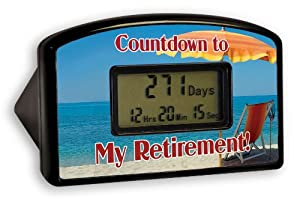 Big Mouth Toys Countdown Timer - Retirement Red Chair (Blister)