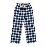 Vanilla Park Woven Check Pyjama Bottoms - Navy