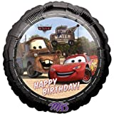 Disney Cars Happy Birthday 18 Mylar Balloon