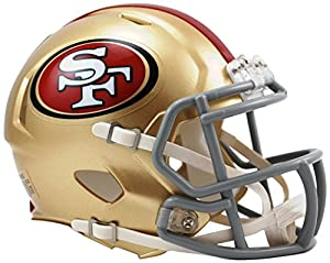 San Francisco 49ers Speed Mini Helm