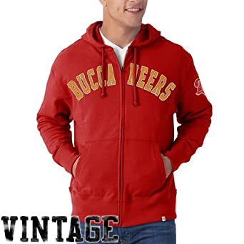 NFL Tampa Bay Buccaneers Mens Striker Full Zip Jacket by