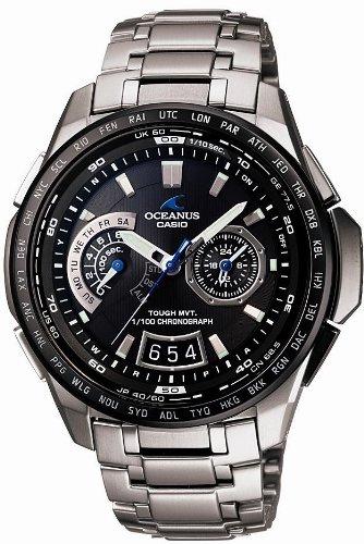 CASIO (カシオ) 腕時計 OCEANUS Classic オシアナス クラシック タフソーラー電波時計 タフムーブメント MULTIBAND 6 マルチバンド 6 OCW-T750TDE-1AJF メンズ