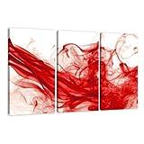 "Visario Leinwandbilder 1120 Bild auf Leinwand Smoke, 160 x 90 cm, 3 Teilevon ""Visario Leinwandbilder"""