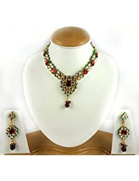 Aradhya Designer Kundan Choker Traditional Jewellery Set For Women