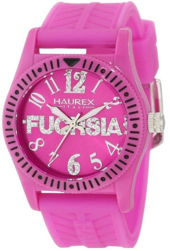 Haurex Italy Childrens Watch PP331DP1 Promise G P with Purple Dial and Purple Rubber Strap